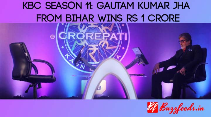 Kaun Banega Crorepati 11: Gautam Kumar Jha From Bihar Wins Rs 1 Crore