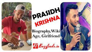 Prasidh Krishna Biography, Girlfriend, Weight, Height, Age, Records and More