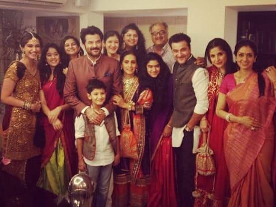 Shanaya Kapoor's Family Members
