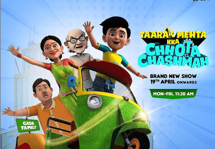 Watch Tarak Mehta Ka Chhota Chasmah Cartoon Release Date & Cast