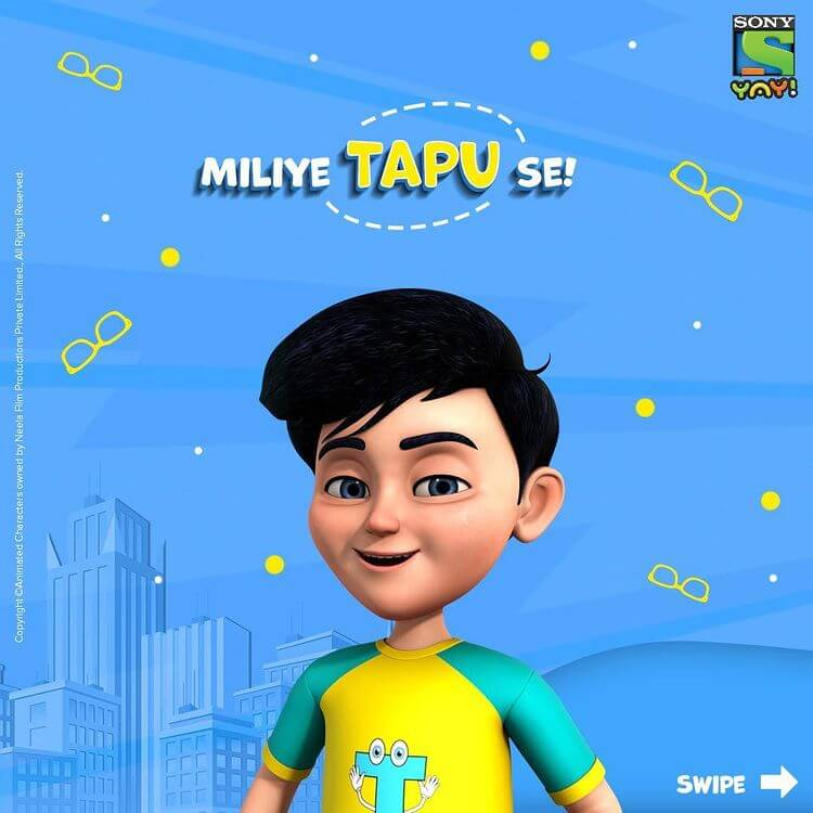 tapu animated cartoon