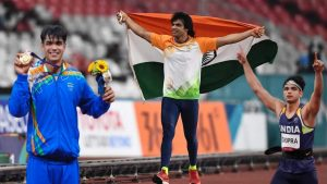 Read more about the article Neeraj Chopra Biography, Records, Girlfriend, Family, Medals & Much More